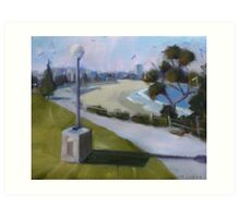 View to Coogee Beach  Art Print