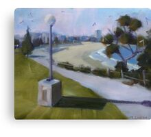 View to Coogee Beach  Canvas Print