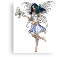 Snowflake Butterfly Fairy Canvas Print