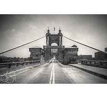Roebling Bridge Photographic Print