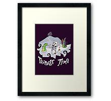 Tentacle Time! Framed Print