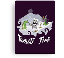 Tentacle Time! Canvas Print