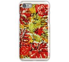 FOREVER & FOR ALWAYS - Beautiful Vintage Acrylic Floral Painting Romantic Love Typography Art iPhone Case/Skin