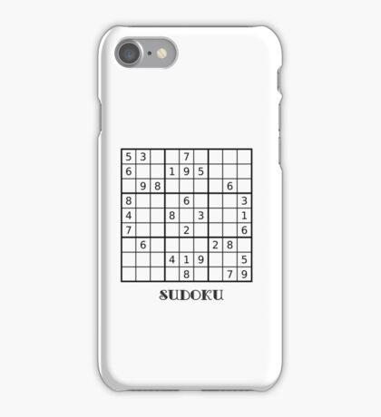 Sudoku iPhone Case iPhone Case/Skin