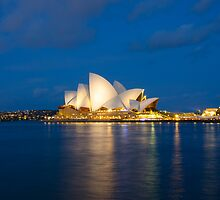 Sydney Harbour Reflections by aweatherall