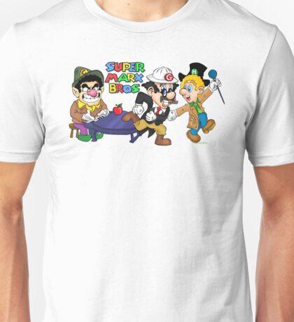 Super Marx Bros  Unisex T-Shirt