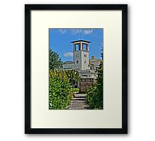 Church of Belvedere, HDR Photo Framed Print