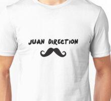 Juan Direction   With Moustache! Unisex T-Shirt