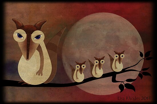 Possum Moon by Rookwood Studio ©