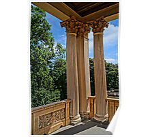 magnificent columns, HDR Photo Poster