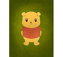 Cute Pooh Bear Photographic Print