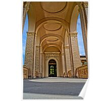 beautiful columns, HDR Photo Poster