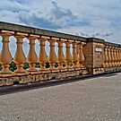 balustrade of belvedere, HDR photo by Alexander Drum