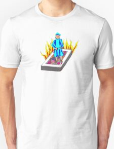 The Boy Stood on the Burning Deck T-Shirt