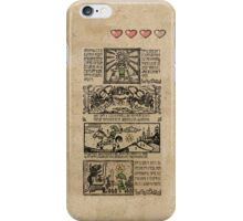 Windwaker Heroes Legend Tapestries (iPHONE 4 CAPSULE CASE ver) iPhone Case/Skin