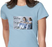 Grey's anatomy-Meredith & Christina Womens Fitted T-Shirt