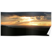 Severn Valley Sunset Poster