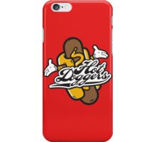 Cool Hot Doggers Logo Design iPhone Case/Skin