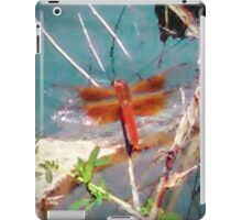 Coppery Dragonfly iPad Case/Skin