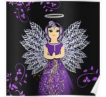 Praying Guardian Angel  Poster