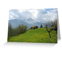 Stunning Switzerland - Spring Greeting Card