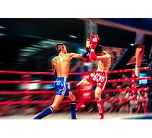 the Knockout Punch Photographic Print