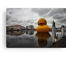 Big Duck in the City Canvas Print