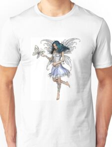 Snowflake Butterfly Fairy Unisex T-Shirt