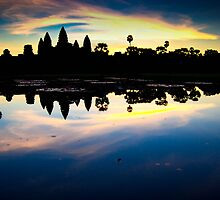 Dawn over Angkor Wat by Gwill