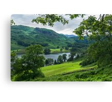 Rydal Water View Canvas Print