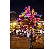 Saigon Ben Thanh Roundabout Photographic Print