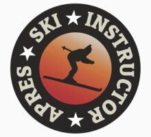 Apres Ski Instructor Skier by theshirtshops