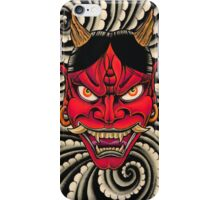 Red Hannya iPhone Case/Skin