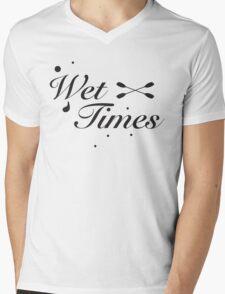 Wet Times Mens V-Neck T-Shirt