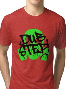Dubstep Green Gas Mask Tri-blend T-Shirt