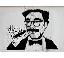 Mr. Moustachio  Photographic Print
