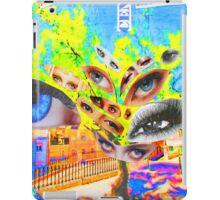 Prince's eyes. Príncipe Real. Lisboa iPad Case/Skin