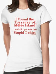 Treasure of Melee Island Womens Fitted T-Shirt