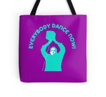Everybody Dance Now - Custom Blue Tote Bag