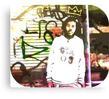 RIP Capital Steez Canvas Print
