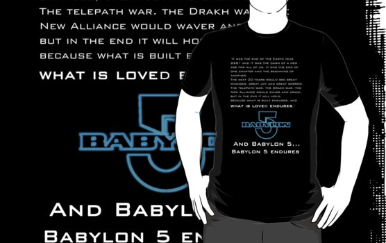 Babylon 5 Endures! by sandnotoil