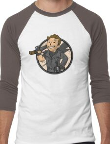 Warrior of the Road (sticker) Men's Baseball ¾ T-Shirt