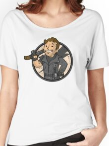 Warrior of the Road (sticker) Women's Relaxed Fit T-Shirt