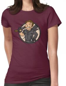 Warrior of the Road Womens Fitted T-Shirt
