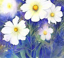 White Cosmos (Purity) by Jacki Stokes