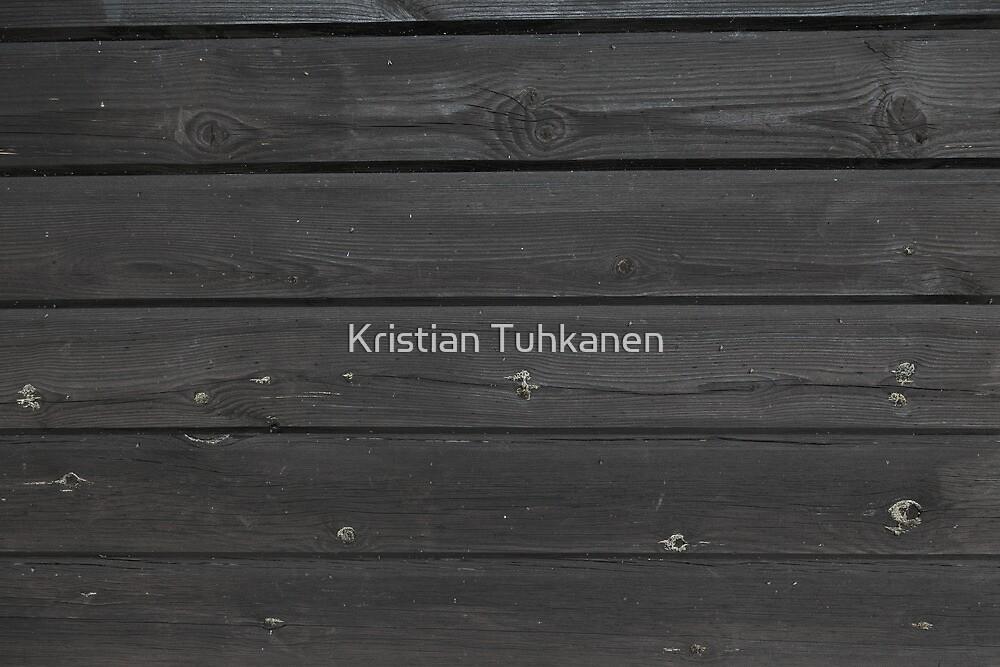 Black plank wall by Kristian Tuhkanen