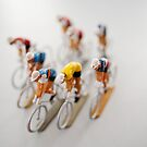 Cyclists 1 by Flo Smith