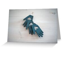 Shaker Hearts and Hands 1 Greeting Card