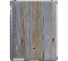 Rough wooden surface iPad Case/Skin