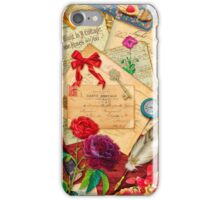 Vintage Love Letters iPhone Case/Skin